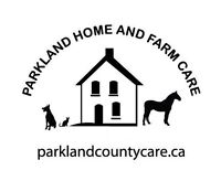 Pet Sitting for rural Parkland County, Spruce Grove, Devon...
