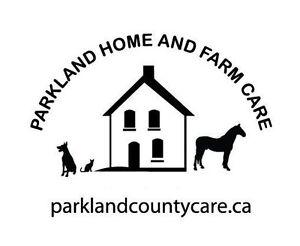 Pet Sitting for Rural Parkland County, Spruce Grove, Devon etc