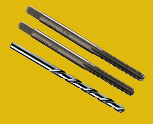 8-40 Tap  3 PIECE   High Carbon Steel Tap Set     Hard to Find  Made in USA