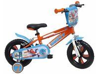 Boys Disney planes bike