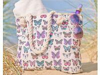 Butterfly beach bag