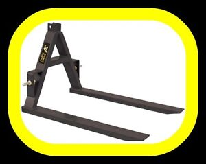 3 point hitch PALLET FORKS, 2000lb capacity, IN STOCK NOW