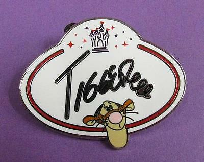 Disney HKDL - Cast Member Name Badge Tag Mystery Collection - TIGGER Pin