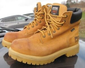 Timberland Pro Waterproof safety boots men's size US 10 W