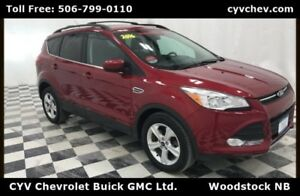 2016 Ford Escape SE 4WD - Heated Leather & Rear Camera
