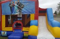 RENTAL BOUNCY CASTLE FACE PAINTING BALLOON TWISTING