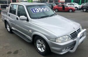 2005 Ssangyong Musso 4X4 TURBO DIESE Sports 5 Speed Manual Utility Cheltenham Kingston Area Preview