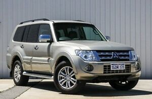2014 Mitsubishi Pajero NW MY14 Exceed Gold 5 Speed Sports Automatic Wagon Willetton Canning Area Preview