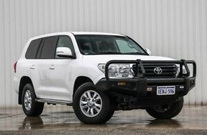 2014 Toyota Landcruiser VDJ200R MY13 GXL White 6 Speed Sports Automatic Wagon Willetton Canning Area Preview