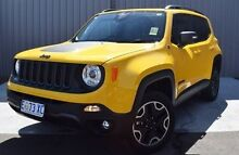 2016 Jeep Renegade BU MY16 Trailhawk AWD Yellow 9 Speed Sports Automatic Hatchback Invermay Launceston Area Preview