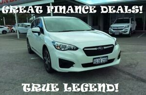 2017 Subaru Impreza G5 MY17 2.0i CVT AWD White 7 Speed Constant Variable Hatchback Greenfields Mandurah Area Preview