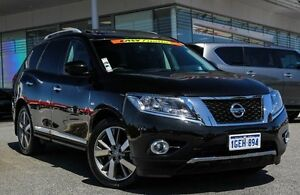 2016 Nissan Pathfinder R52 MY16 Ti X-tronic 2WD Black 1 Speed Constant Variable Wagon Cannington Canning Area Preview