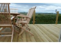 """Decking boards 4.8m long x 120mm x 32mm ( fencing boards, timer, fence posts 2x4 off saw 4"""" 2"""""""