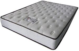 """NEW 60""""x78""""Queen 9"""" thick tight-top Coil Mattress Only $280!"""