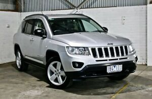 2013 Jeep Compass MK MY13 Limited CVT Auto Stick Silver 6 Speed Constant Variable Wagon Thomastown Whittlesea Area Preview