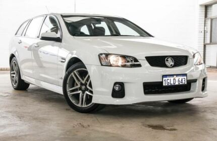 2010 Holden Commodore VE II SV6 White 6 Speed Automatic Sportswagon