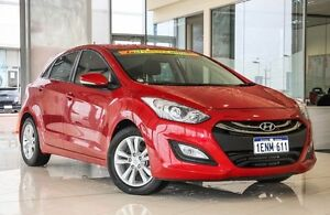 2014 Hyundai i30 GD2 MY14 SE Brilliant Red 6 Speed Manual Hatchback Wangara Wanneroo Area Preview