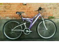Dual suspension bike