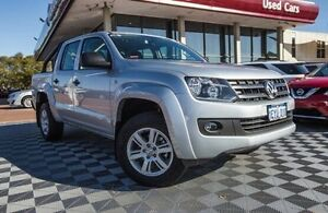 2016 Volkswagen Amarok 2H MY16 Silver 8 Speed Automatic Utility Alfred Cove Melville Area Preview