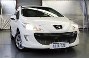 2010 Peugeot 308 T7 XSE Turbo White 4 Speed Sports Automatic Hatchback Myaree Melville Area Preview