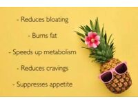 Weight loss coffee, juice or hot chocolate