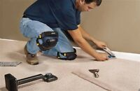 Journeyman floor installer 43 years experience great rates !