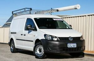 2014 Volkswagen Caddy 2KN MY15 TDI250 BlueMOTION Maxi White 5 Speed Manual Van Wangara Wanneroo Area Preview