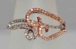Diamond Ring, 10K 2-Tone Gold, Value $1,600