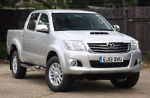 2014 Toyota Hilux Ute trade for Ford Ranger or Navara Arundel Gold Coast City Preview