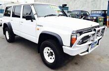 1993 Nissan Patrol DX (4x4) White 5 Speed Manual 4x4 Wagon Woodridge Logan Area Preview