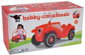 SMOBY BIG-BOBBY-CAR from JOHN LEWIS, BNIB, £20,