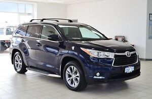 2014 Toyota Kluger GSU50R GXL (4x2) Blue 6 Speed Automatic Wagon Morley Bayswater Area Preview