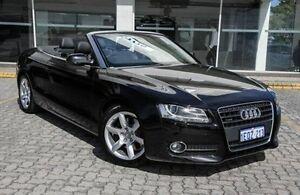 2010 Audi A5  Black Sports Automatic Dual Clutch Cabriolet St James Victoria Park Area Preview