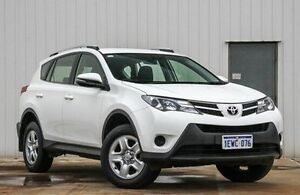 2015 Toyota RAV4 ZSA42R MY14 GX 2WD White 7 Speed Constant Variable Wagon Willetton Canning Area Preview