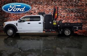 2017 Ford Super Duty F-550 DRW CREW-CAB XLT PICKER