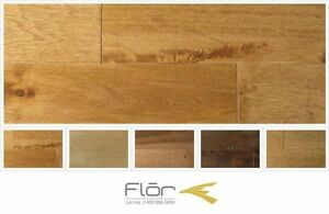 LIQUIDATION HARDWOOD FLOORING (CANADIAN) - Maple/Birch/Oak/Beech