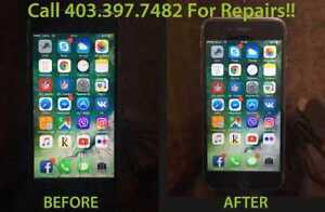 On the Spot Repairs- iPhone 5/6/6+/6S/6S+/7/8! Call 587-803-2722