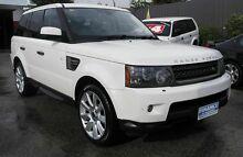 2010 Land Rover Range Rover MY10 Sport 3.0 TDV6 White 6 Speed Automatic Wagon Pooraka Salisbury Area Preview
