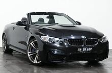 2014 BMW M4 F83 M-DCT Black 7 Speed Sports Automatic Dual Clutch Convertible Rozelle Leichhardt Area Preview