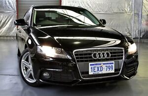 2011 Audi A4 B8 8K MY11 Avant Multitronic Black 8 Speed Constant Variable Wagon Myaree Melville Area Preview