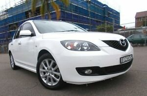2008 Mazda 3 BK MY08 Maxx Sport White 4 Speed Auto Activematic Hatchback Belmore Canterbury Area Preview