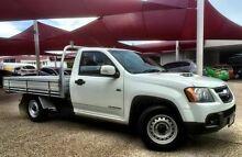 2009 Holden Colorado RC TURBO DX Alpine White Manual Utility Mackay 4740 Mackay City Preview