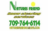 Snow removal service for residential driveways