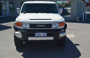 2015 Toyota FJ Cruiser GSJ15R MY14 White 5 Speed Automatic Wagon Bayswater Bayswater Area Preview