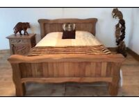 Bed Frame For Sale , solid Wood, brand new