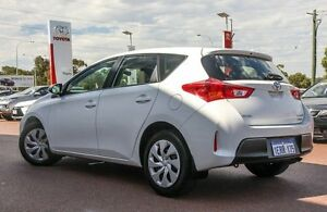 2015 Toyota Corolla ZRE182R Ascent S-CVT White 7 Speed Constant Variable Hatchback Wangara Wanneroo Area Preview
