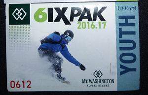 Mount Washington chair lift ticket (15% off)
