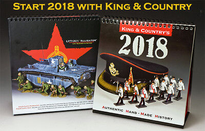 KING AND COUNTRY 2018 CALENDAR