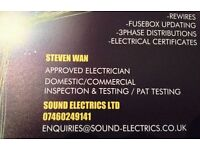 SOUND ELECTRICS LTD Glasgow electrician