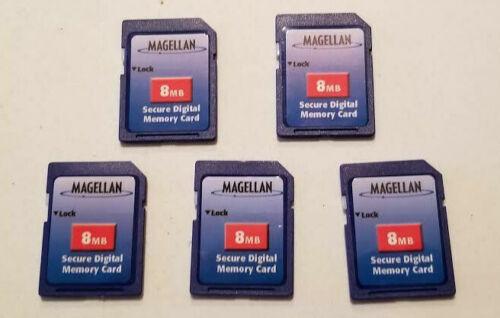 5 Pack - 8MB SD Secure Digital Memory Card - NEW